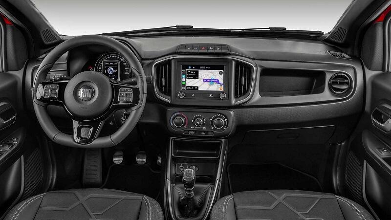 Itens de Série da Fiat Strada 2021