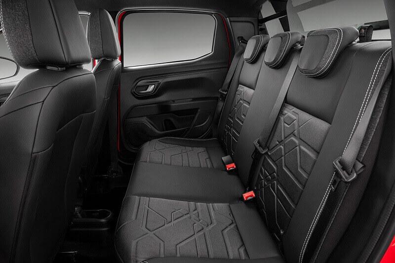Interior Fiat Strada