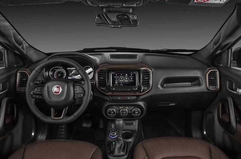 Itens de Série da Fiat Toro