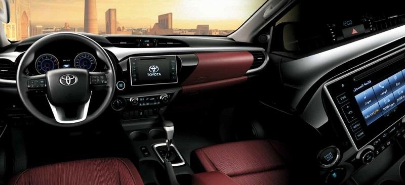 Itens de Série do Toyota Hilux 2021