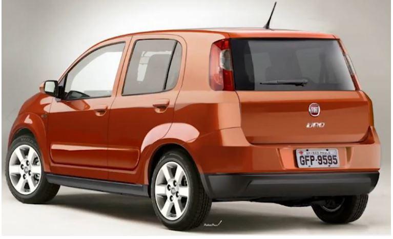 Versões do Novo Fiat Uno