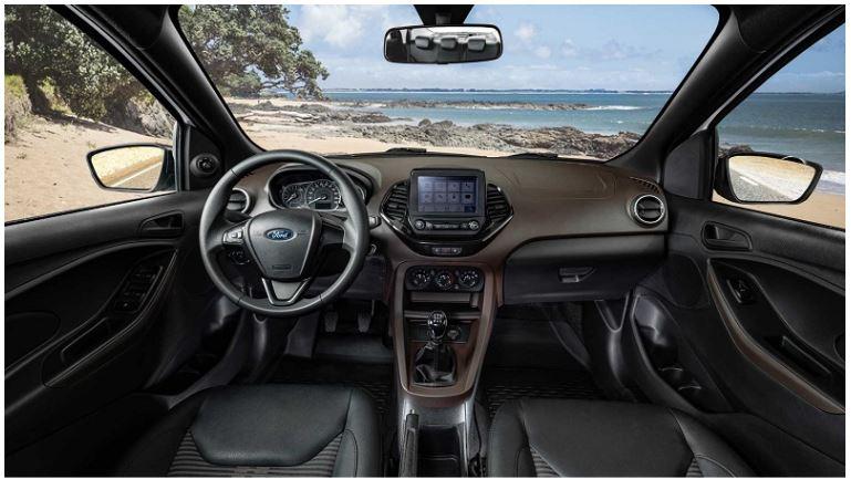 Itens de Série do Ford Ka Sedan