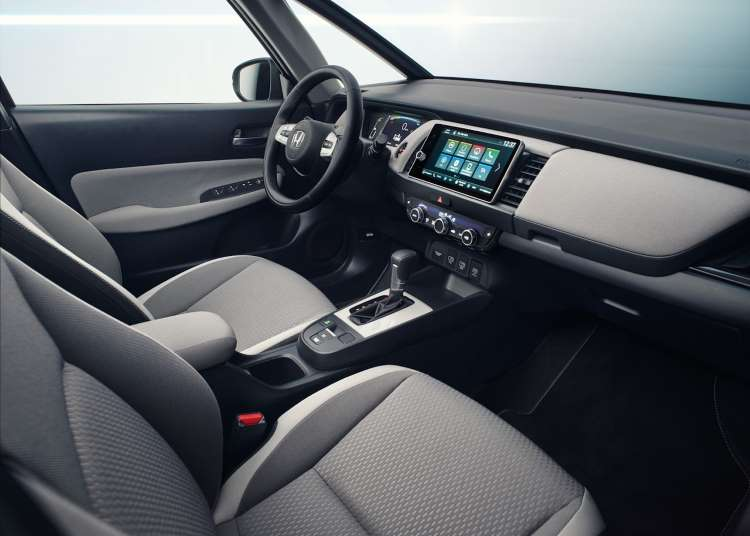 Interior Honda Fit