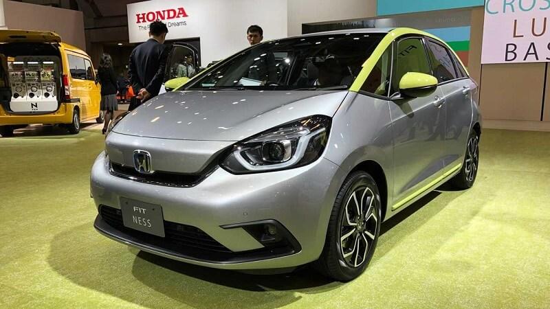 Versões Honda Fit