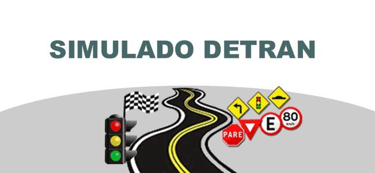 Placas de Trânsito Simulado
