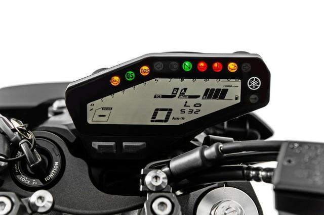 Itens de Série Yamaha MT 09