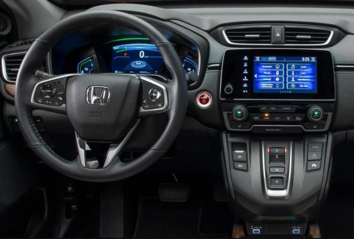 Itens de Série do Honda CR-V 2021