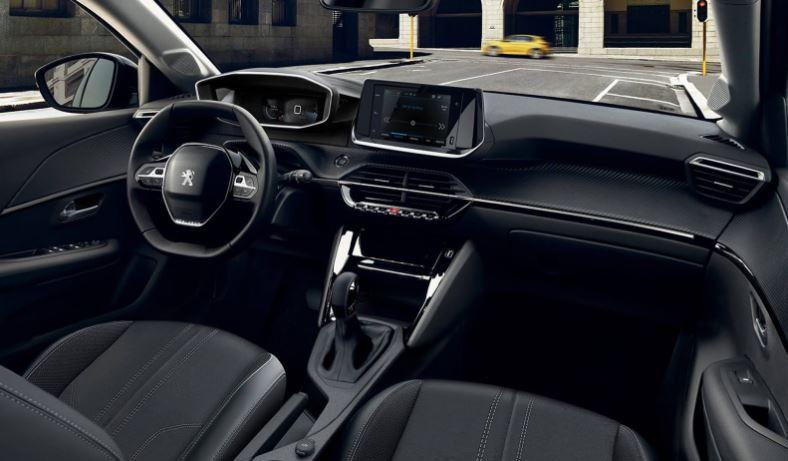 Itens de Série do Peugeot 208