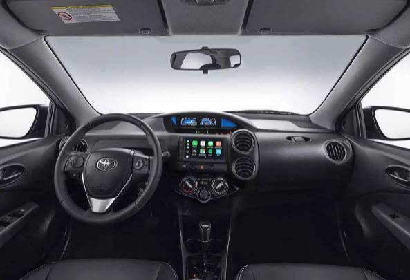Itens de Série do Toyota Etios
