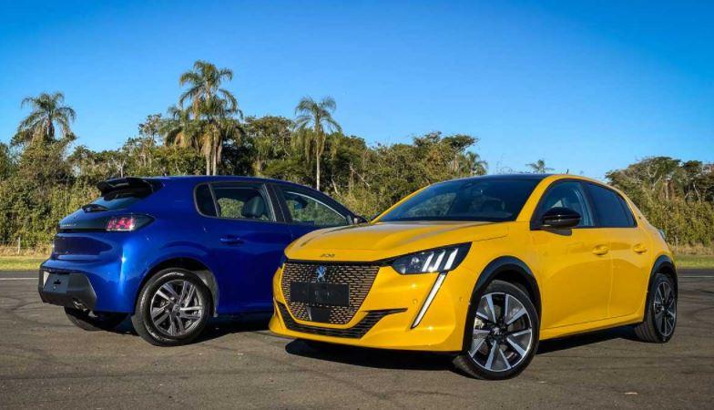Versões Novo Peugeot