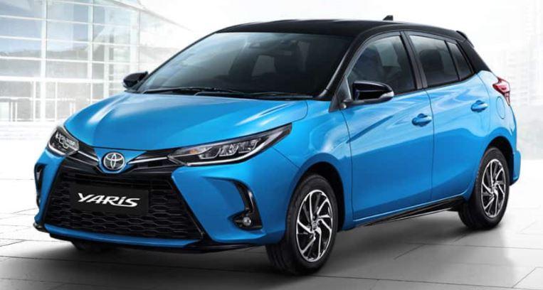 Versões Toyota Yaris