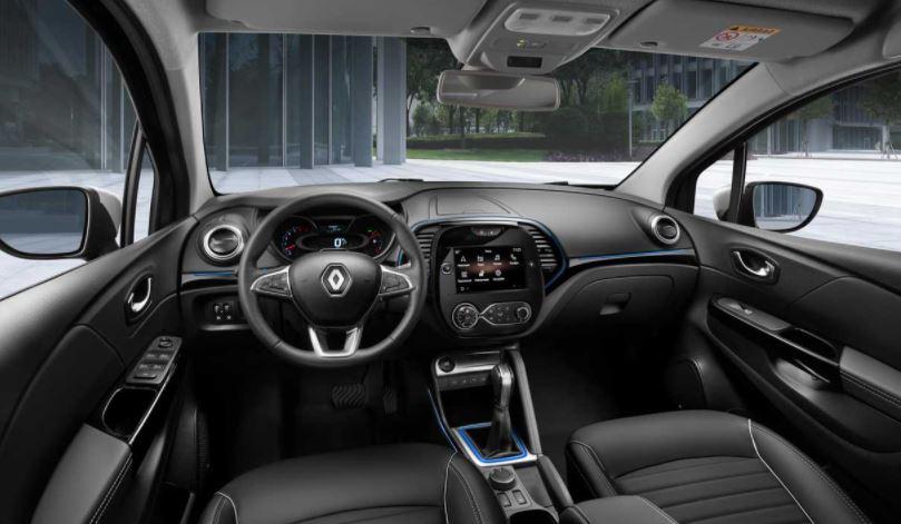 Itens de Série do Renault Captur